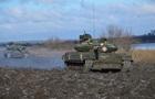 Военные показали экзамен танкистов в АТО