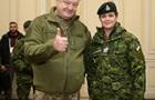 Генерал-губернатор Канади зробила Порошенкові подарунок  з космосу
