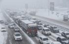 Одесскую трассу закрыли для всех видов транспорта