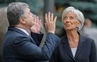 Порошенко встретится с главой МВФ в Давосе