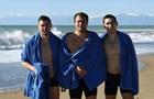 Игроки Шахтера на Крещение искупались в Средиземном море