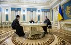 Порошенко обсудил с главой УПЦ МП вопрос пленных