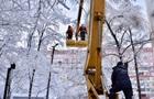 В Украине без света 174 населенных пунктов