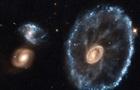 Hubble сфотографировал галактику Колесо Телеги