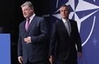 Порошенко и Столтенберг обсудили ситуацию в зоне АТО