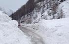 В Италии рекордный снегопад