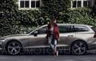 Новый универсал Volvo V60  засветился  на видео