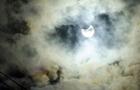 У мережі діляться знімками першого сонячного затемнення у 2018 році