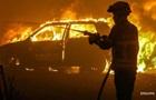 В центре Одессы подожгли авто судьи