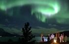 В Норвегии сняли эффектное северное сияние