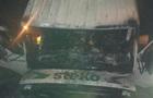 На трассе под Ровно горела фура