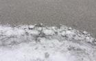 В Ивано-Франковской области выпал черный снег