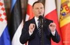 Дуда: Поляки хотят хороших отношений с украинцами