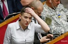 В Раде получили представление ГПУ на арест Савченко