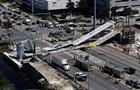 Число жертв обрушения моста в Майами возросло до шести