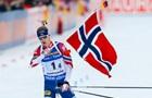 Норвегия выиграла мужскую эстафету, Украина – двенадцатая