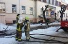 Пожар в Черновицком колледже тушили три часа