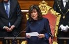 В Италии женщина впервые возглавила Сенат