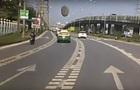 В Таиланде  НЛО  упало на трассу перед машиной