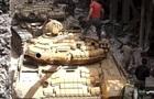 В сети показали, как танки и бульдозер зачистили лагерь беженцев в Сирии