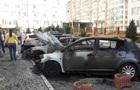 В Одессе на парковке сгорели четыре машины