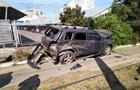 В Одесі зіткнулися автомобіль і трамвай