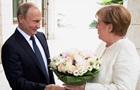 Букет Путіна для Меркель ЗМІ назвали образою