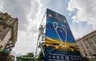 У Києві прибирають рекламу Газпрому