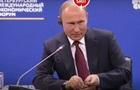Французский бизнесмен подарил Путину синего петуха