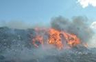 У Миколаєві горить головне міське звалище