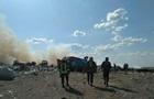 Спасатели локализовали пожар на свалке в Николаеве