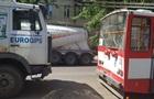 В Николаеве столкнулись троллейбус и грузовик, есть пострадавшие