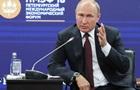 Путін закликав Захід не переходити  червону межу