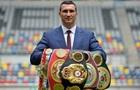 Володимир Кличко запрошений на церемонію введення в Зал слави боксу