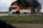 Молния сожгла автобус в Греции