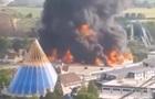 В крупнейшем парке развлечений Германии сгорел аттракцион