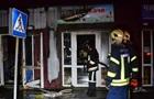 Под Одессой сгорел павильон с алкоголем