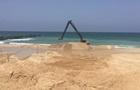Израиль начал строить морской барьер на границе с сектором Газа