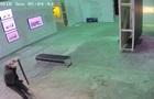 Кража полотна Бэнкси попала на видео