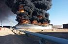 Лівія через обстріли втратила два резервуари для зберігання нафти