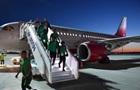 Літак Саудівської Аравії загорівся шляхом на ЧС-2018