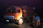 В Днепропетровской области перевернулся КрАЗ с химикатами