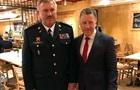 Командующий Нацгвардии встретился с Волкером в США