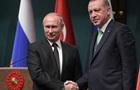 Ердоган похвалив себе і Путіна за досвід в політиці