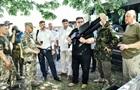 Глава литовського МЗС відвідав передову на Донбасі