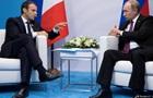 Макрон обговорив на зустрічі з Путіним тему Сирії