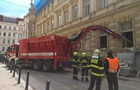В центре Праги обрушилось здание, под завалами оказались пять человек