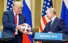 Служба безпеки Трампа перевірила подарований Путіним м яч