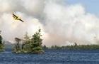 Канаду охватили лесные пожары