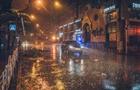 Потоп у Києві: столицю накрив ураган з градом